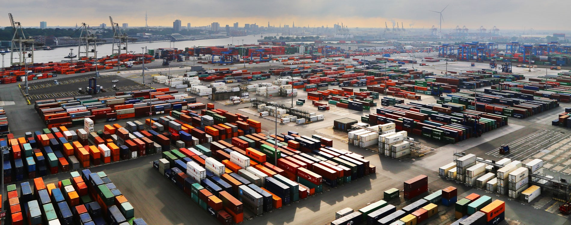 Business - The Hamburg Container Port