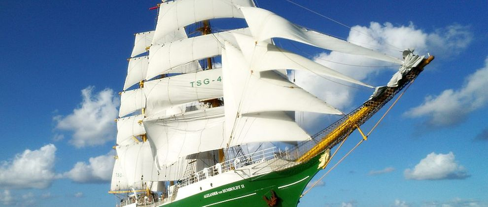 The ALEXANDER von HUMBOLDT II joined the Port Anniversary 2017