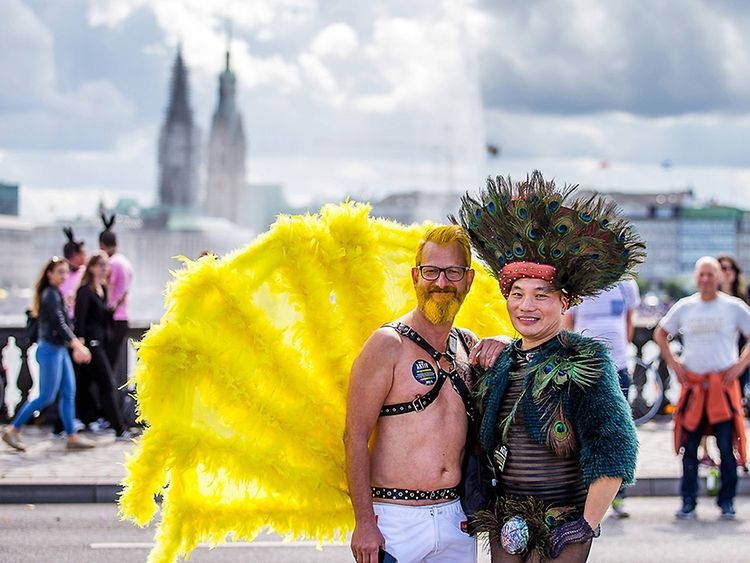 Street Festivals / Christopher Street Day in Hamburg, Germany