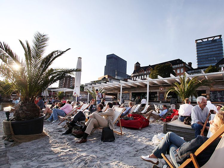 Beach Clubs in Hamburg, Germany