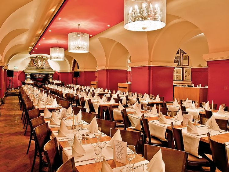 Parlament Restaurant in Hamburg, Germany