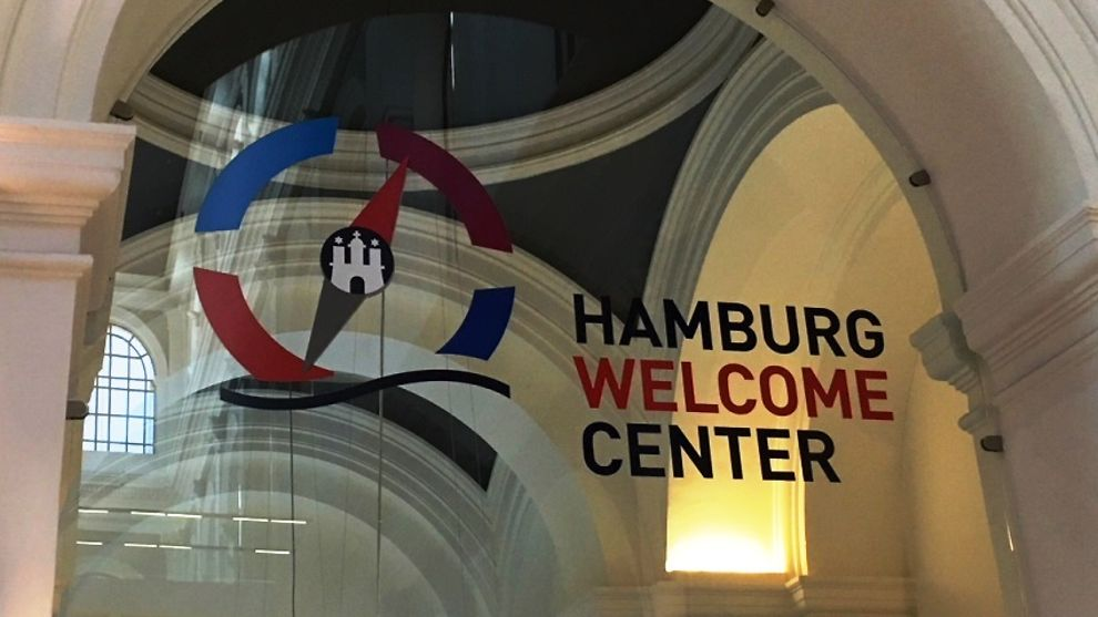 Hamburg Welcome Center in Hamburg, Germany