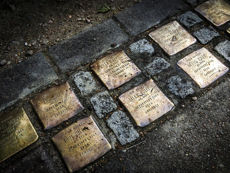 Stolpersteine Art Project