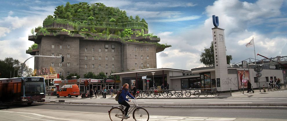 On 8,250 sqm people can do urban gardening as well as partying.