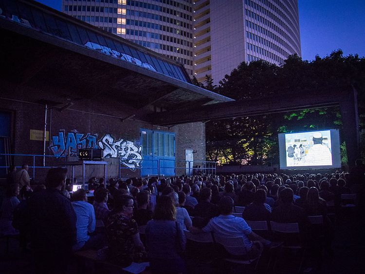 International Short Film Festival Open Air in Hamburg, Germany