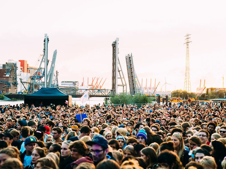 MS Dockville Festival in Hamburg, Germany