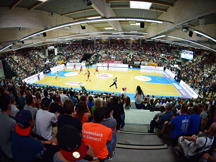 Basketball Supercup in Hamburg, Germany