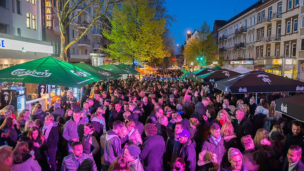 Osterstraßenfest in Hamburg, Germany