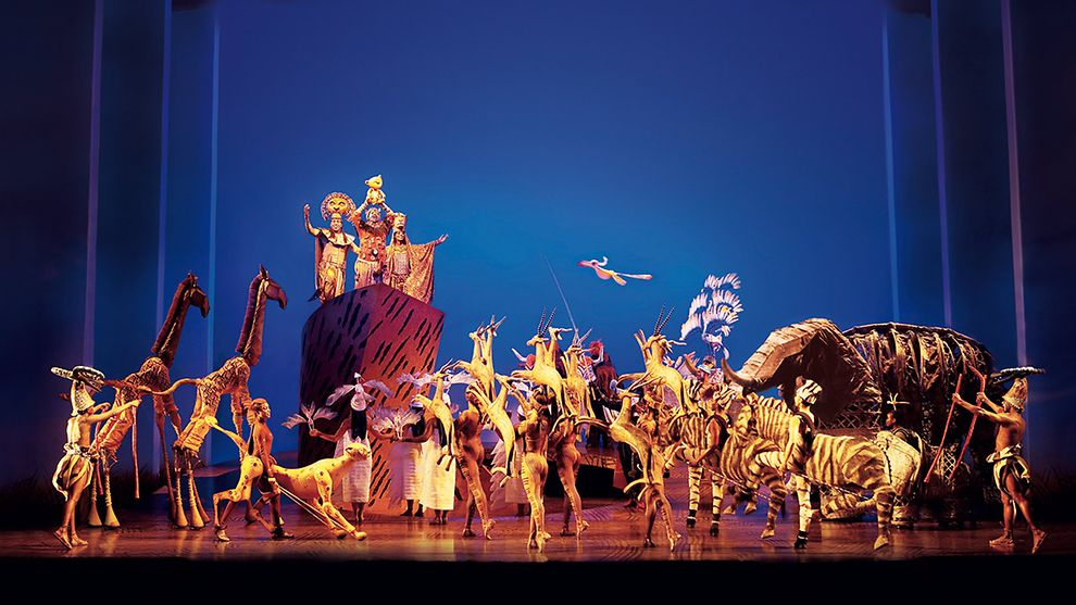 The Lion King Musical in Hamburg, Germany