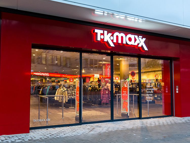 TK Maxx in Hamburg Altona