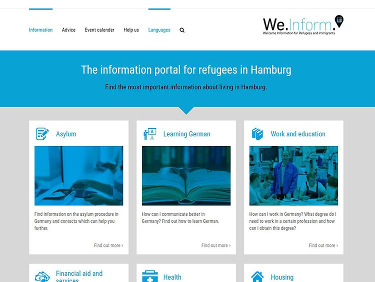We.Inform / Welcome Information for Refugees and Immigrants