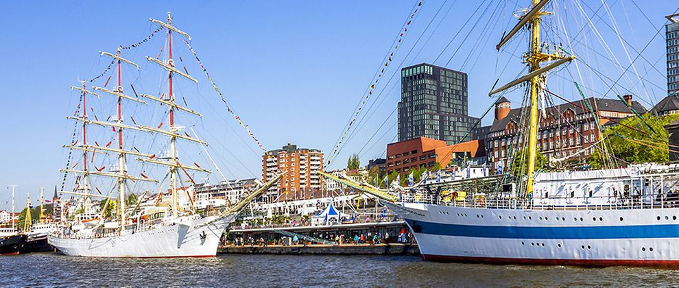 Port Anniversary in Hamburg, Germany: Getting there