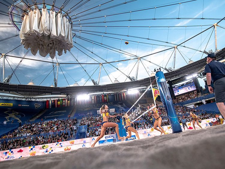 Beach Volleyball World Cup in Hamburg, Germany