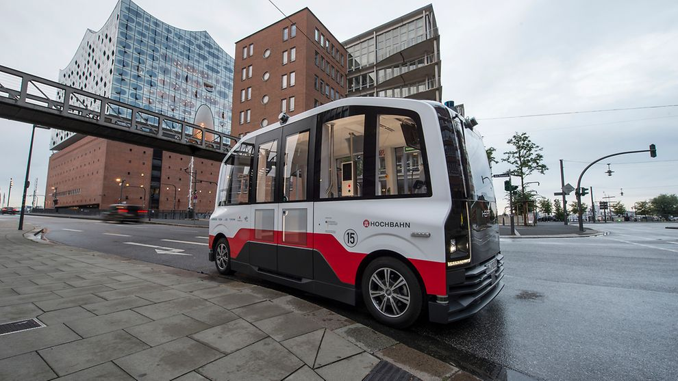 HEAT Autonomous Driving in HafenCity