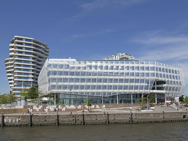 Unilever House in Hamburg, Germany