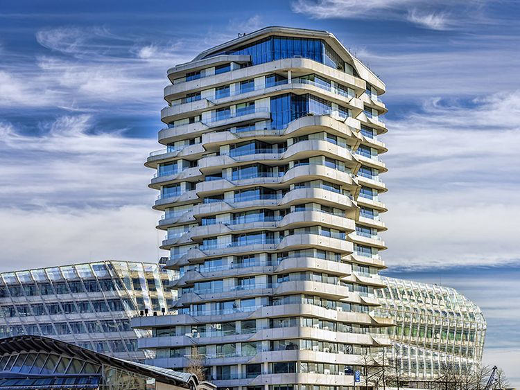Marco Polo Tower in Hamburg, Germany