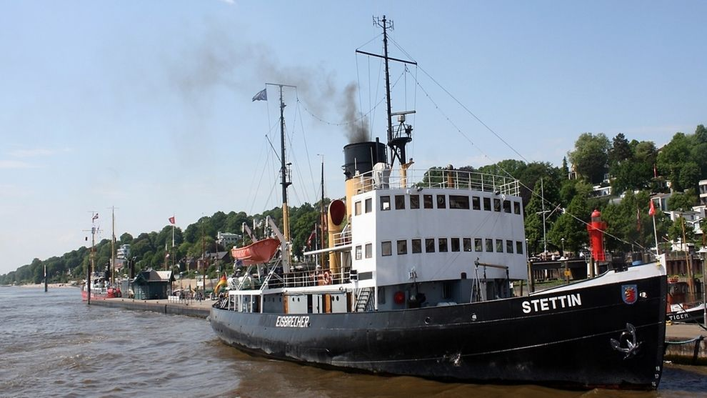 The Museum Port at Hamburg's Oevelgönne area allows fans of maritime history to get upclose with many classic ships.
