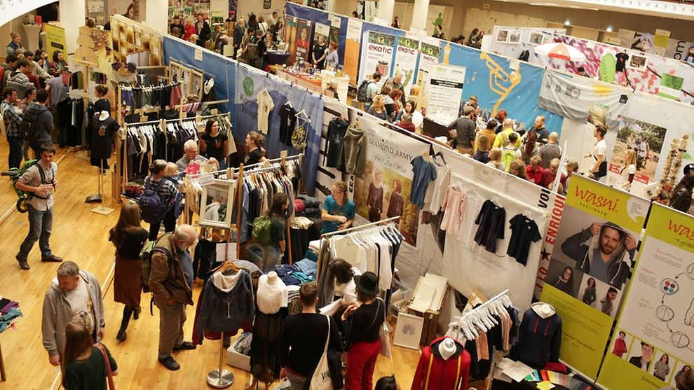 The sustainable lifestyle fair features 80 different exhibitors