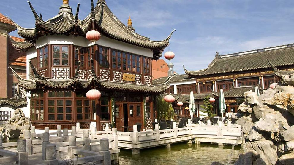 Tea House Yu Garden - Meeting place for Chinese/German intercultural exchange